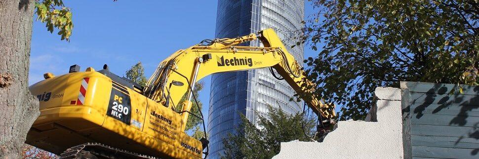 Mechnig GmbH Abbrucharbeiten Posttower